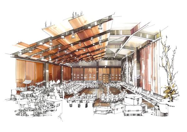 """第四届""""wa总统家""""杯建筑手绘艺术设计大赛设计师组一等奖作品《树下"""